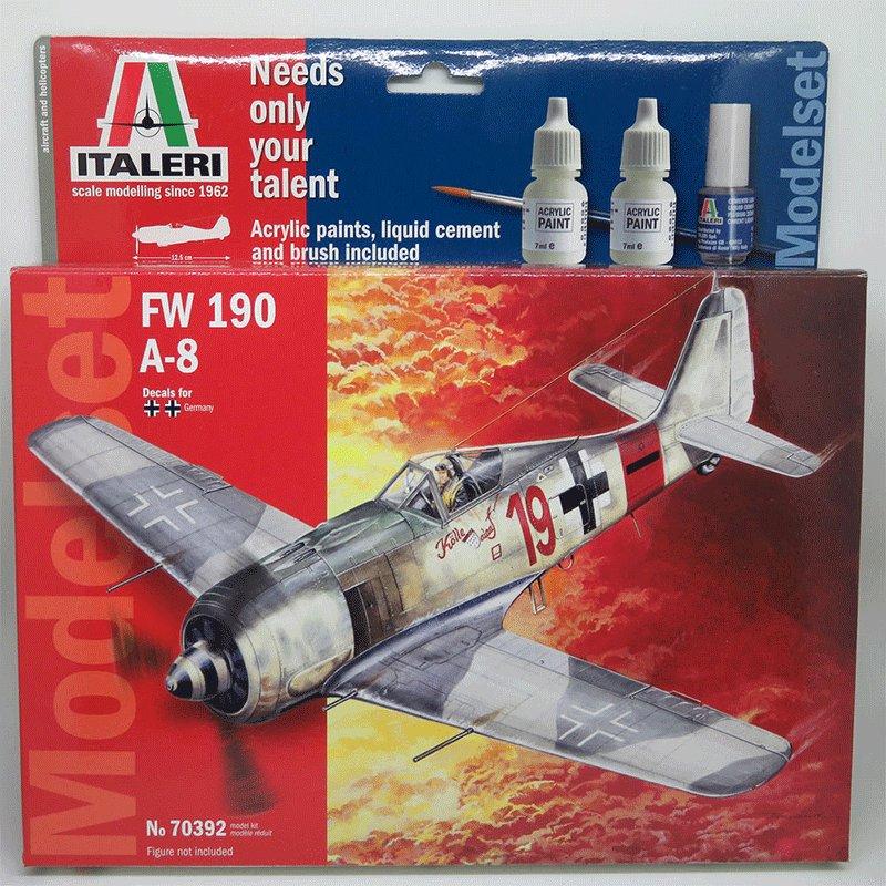 FOCKE-WULF-FW190-A-8 ITALERI 70392