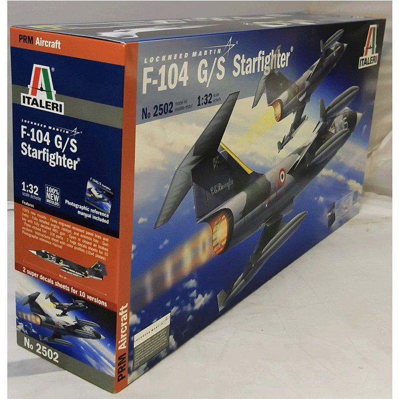 F-104-G-S-STARFIGHTER ITALERI 2502