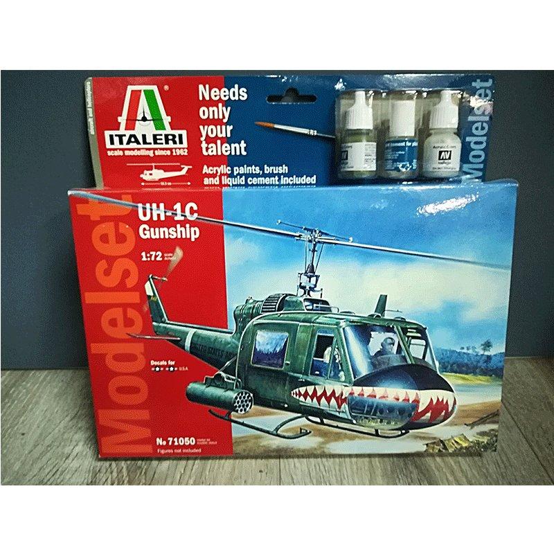 UH-1C-GUNSHIP ITALERI 71050