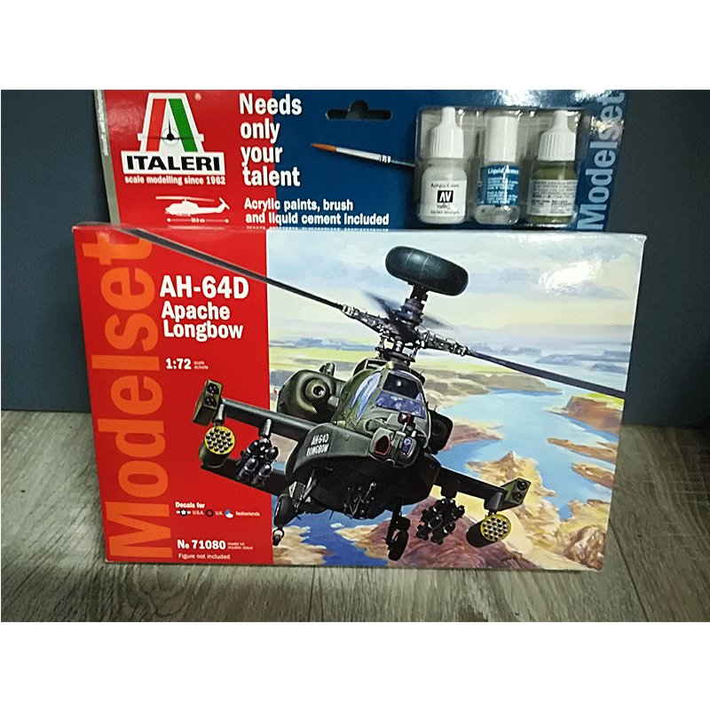 AH-64D-APACHE-LONGBOW ITALERI 71080
