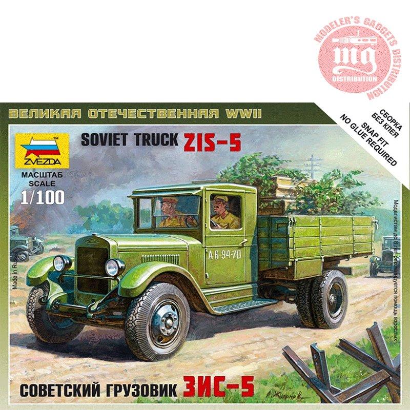 SOVIET-TRUCK-ZIS-5