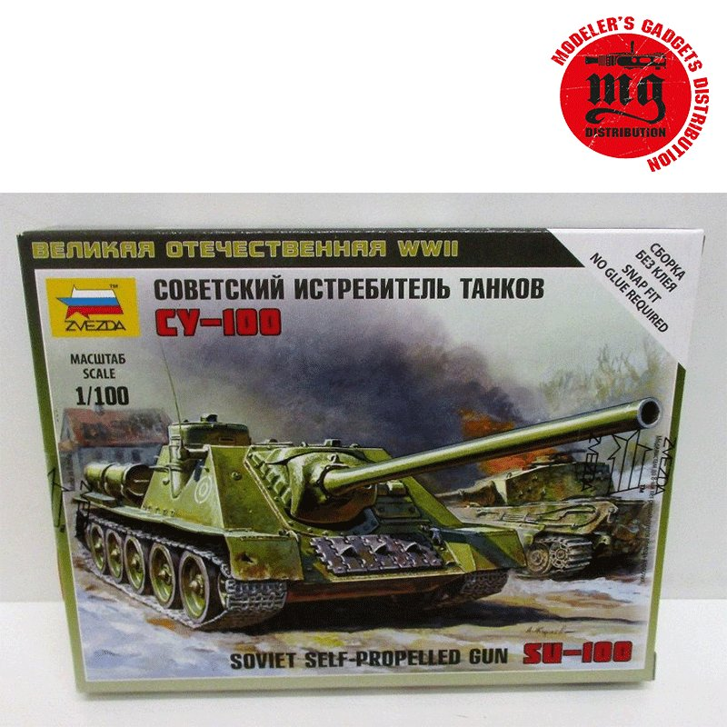 SU-100-SOVIET-SELF-PROPELLED-GUN