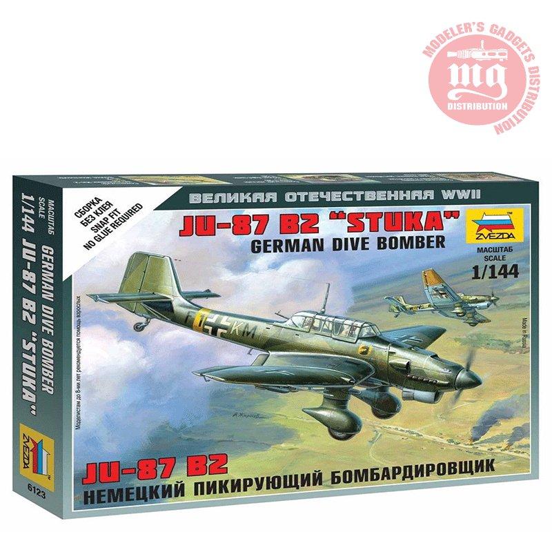 JUNKERS-JU-87-STUKA ZVEZDA 6123