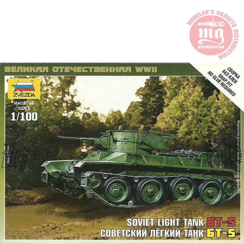 SOVIET-TANK-BT-5