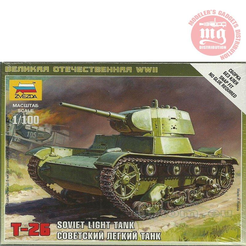 SOVIET-TANK-T-26