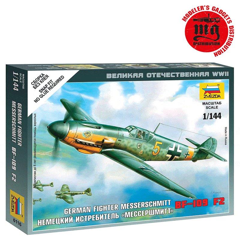 MESSERSCHMITT-Bf-109F-2 ZVEZDA 6116