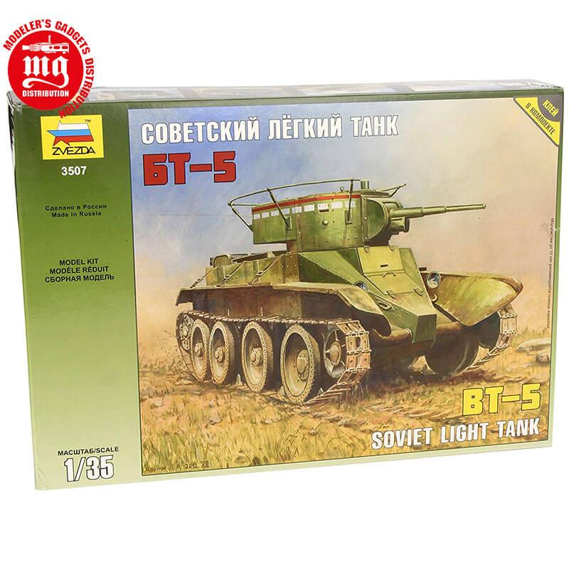 SOVIET-TANK-BT-5-ESPAÑOL ZVEZDA 3507 ESCALA 1:35