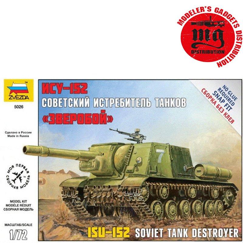 ISU-152-SELF-PROPELLED-GUN-SOVIET-TANK-DESTROYER