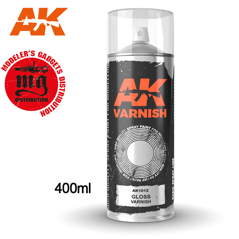 GLOSS-VARNISH-SPRAY-400-ML AK 1012