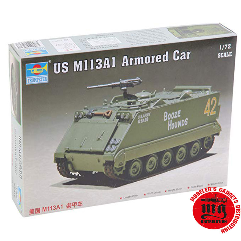 US-M113A1-ARMORED-CAR-TRUMPETER-07238
