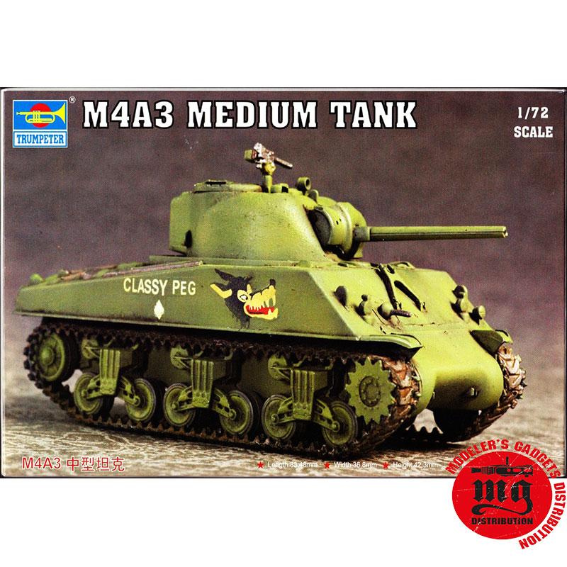 M4A3-MEDIUM-TANK-TRUMPETER-07224