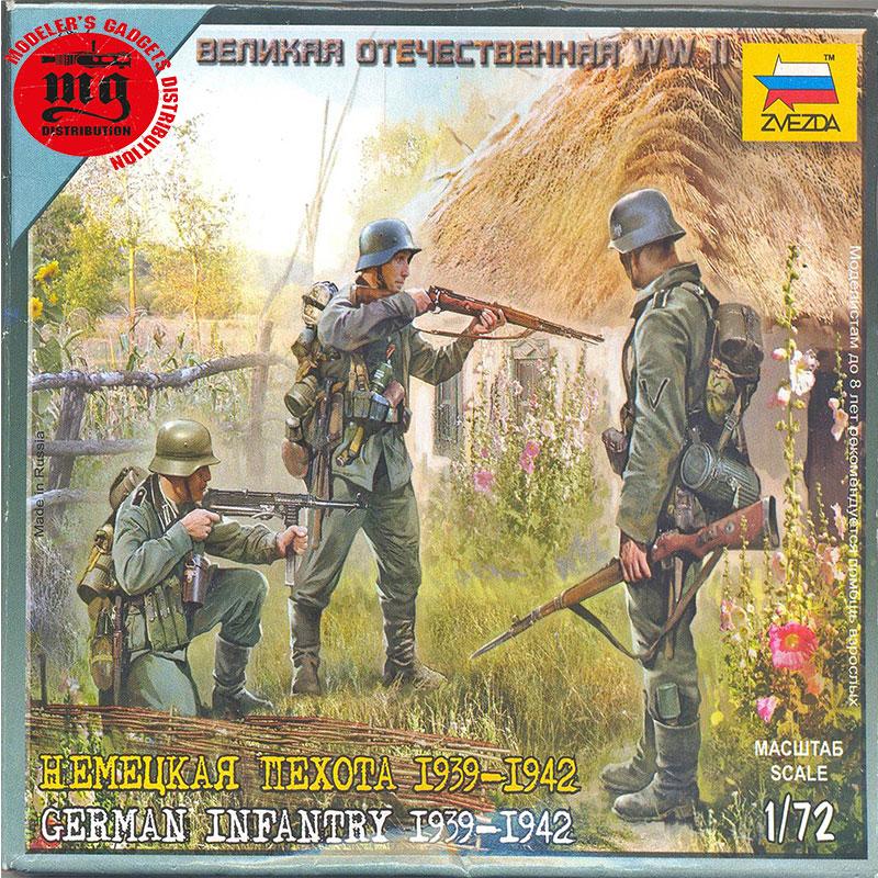 GERMAN-INFANTRY-1939-1942-ZVEZDA-6105-2