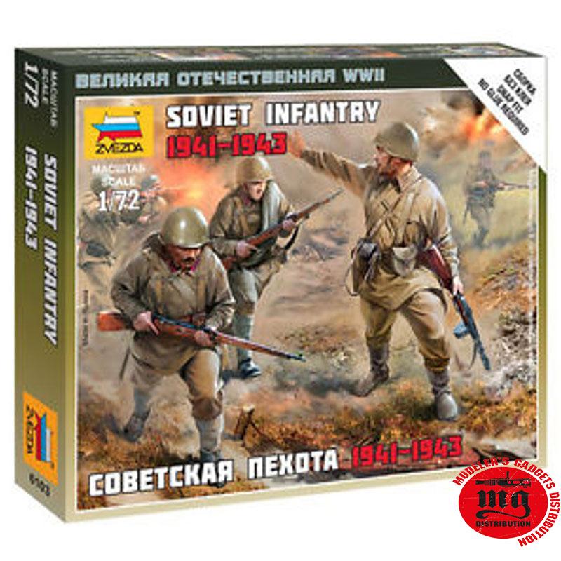 SOVIET-INFANTRY-1941-1943-ZVEZDA-6103
