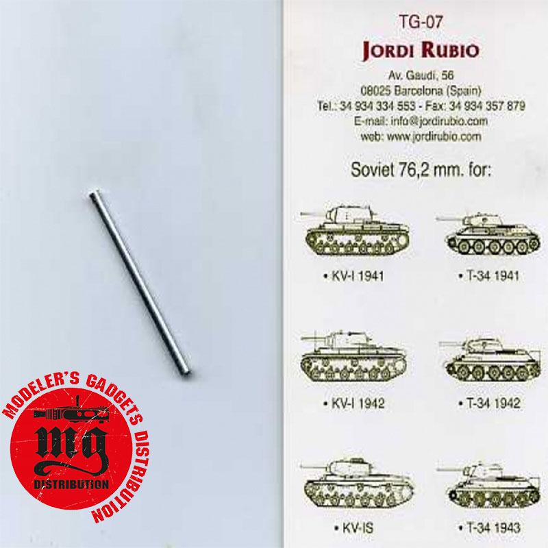 JDR-TG07-76,2-mm-F-34-T-34-KV-1