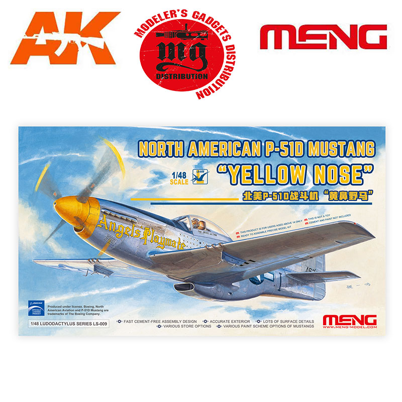 NORTH-AMERICAN-P-51D-MUSTANG-YELLOW-NOSE-MENG-LS-009