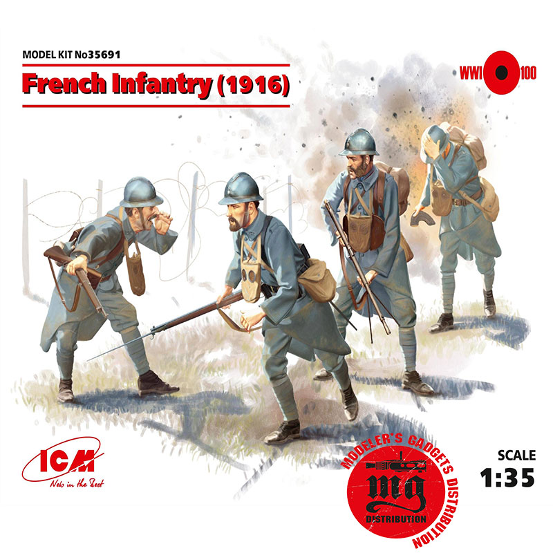 FRENCH-INFANTRY-ICM-35691