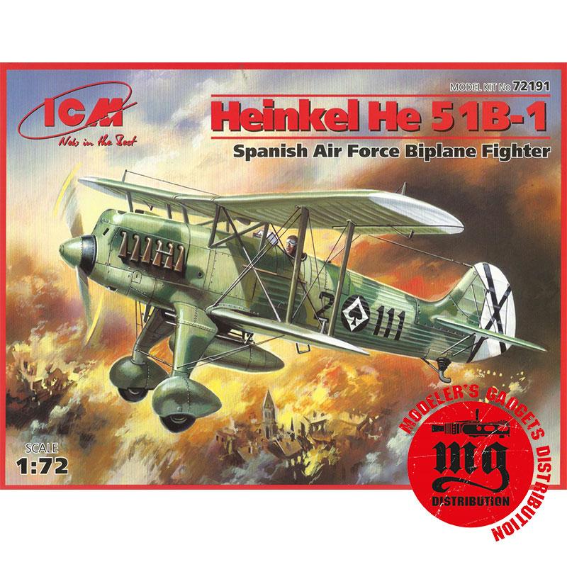 HEINKEL-He-51B-1-ICM-72191