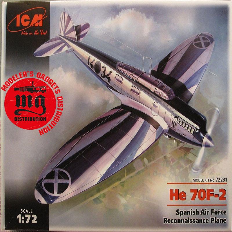 HEINKEL-He-70F-2-ICM-72231