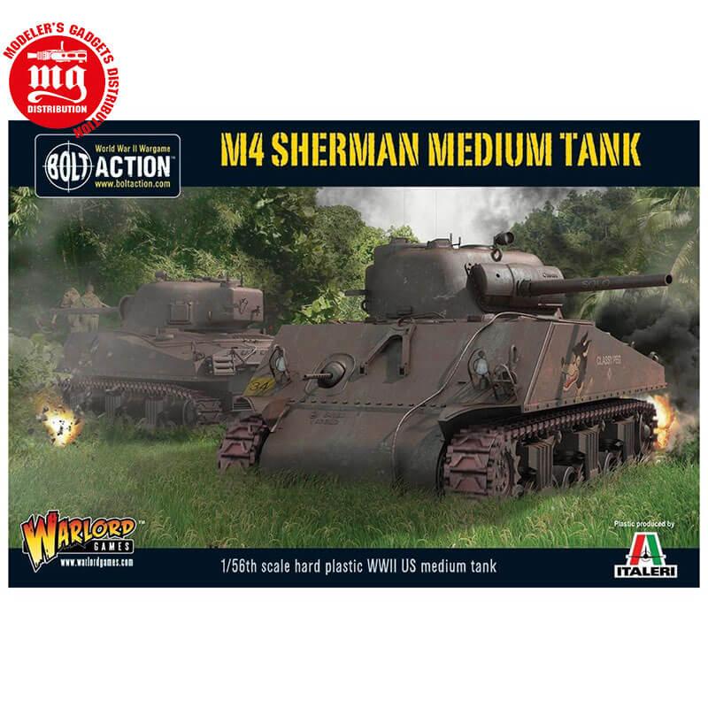 M4-SHERMAN-MEDIUM-TANK WARLORD WGB AI 502 ESCALA 1:56
