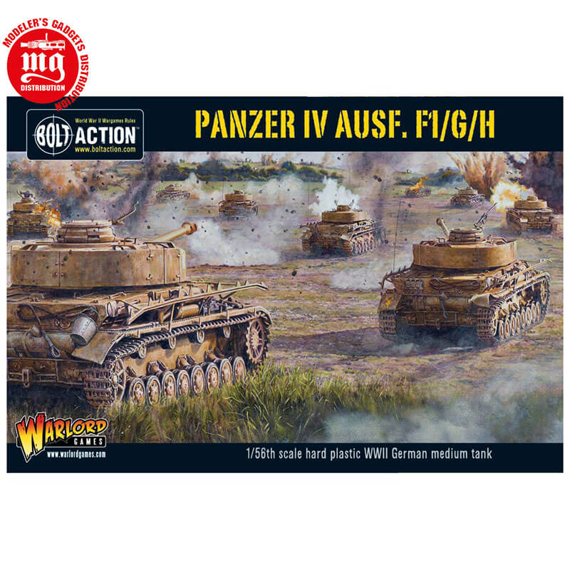 PANZER-IV-AUSF.F1-G-H WARLORD GAMES BOLT ACTION 402012010 ESCALA 1:56