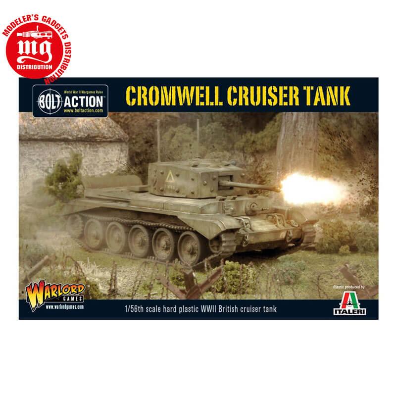 CROMWELL-CRUISER-TANK WARLORD GAMES BOLT ACTION WGB-BI-503 ESCALA 1:56