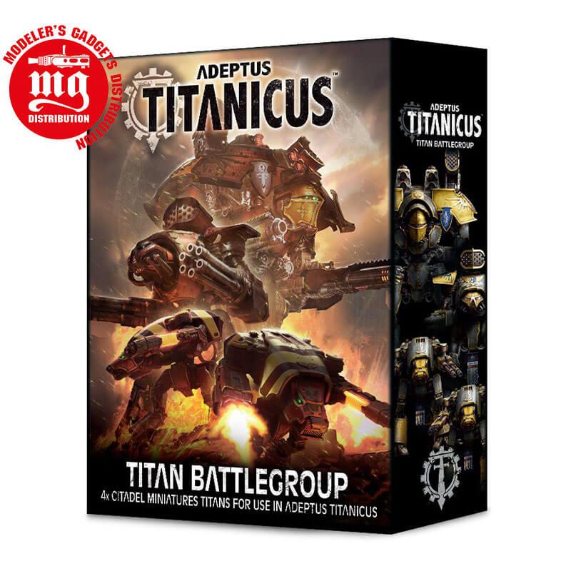 ADEPTUS-TITANICUS-TITAN-BATTLEGROUP WARHAMMER 40000