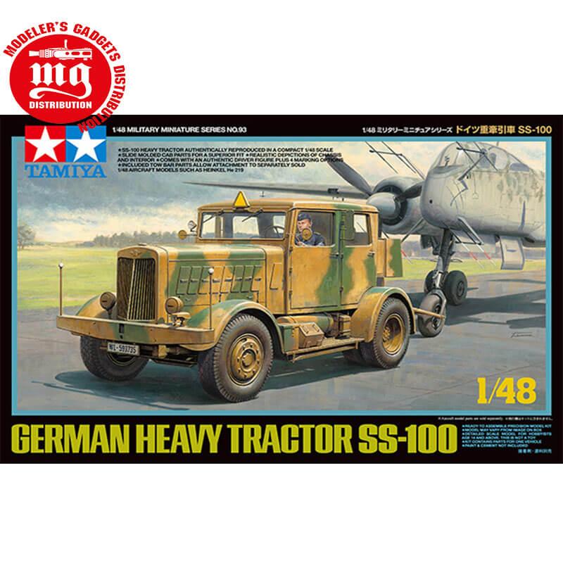 GERMAN-HEAVY-TRACTOR-SS-100 TAMIYA 32593 ESCALA 1:48