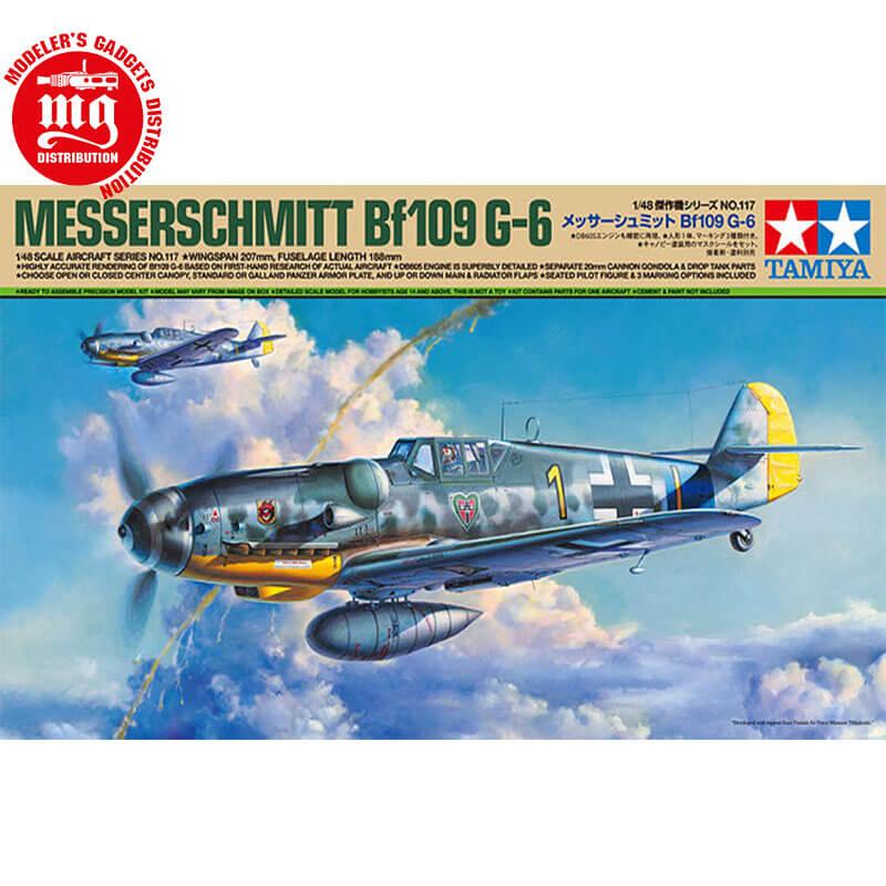 MESSERSCHMITT-Bf109-G-6 TAMIYA 61117