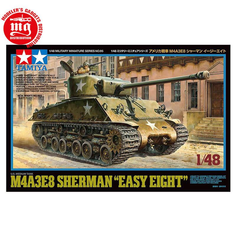 M4A3E8-SHERMAN-EASY-EIGHT TAMIYA 32595 ESCALA 1:48
