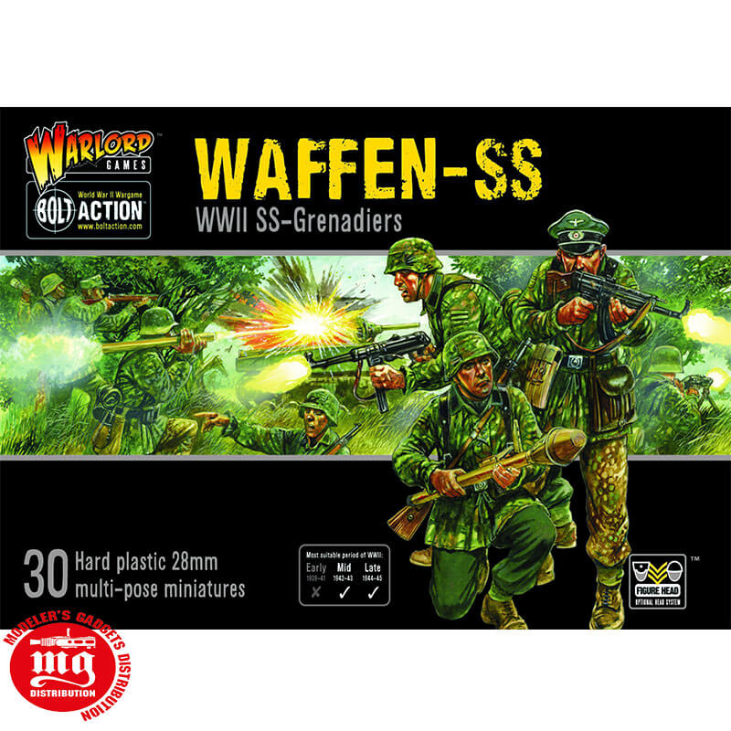 WAFFEN-SS-BOLT-ACTION WARLORD 402012101