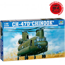 CH 47D CHINOOK TRUMPETER 1:35 TRUMPETER 05105