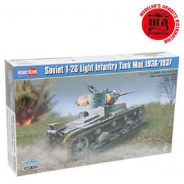SOVIET T-26 LIGHT INFANTRY TANK MODELO 1936-1937