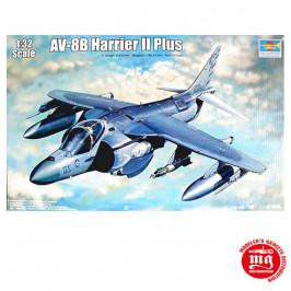 AV-8B HARRIER II PLUS TRUMPETER 02286