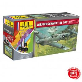 MESSERSCHMITT BF 109 CON PINTURAS HELLER 56236