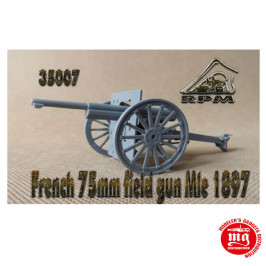 FRENCH 75mm FIELD GUN Mle 1897 SCHNEIDER RPM 35007
