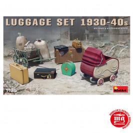JUEGO DE EQUIPAJES LUGGAGE SET 1930 1940 MINIART 35582